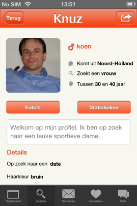 Fotos voor een dating site